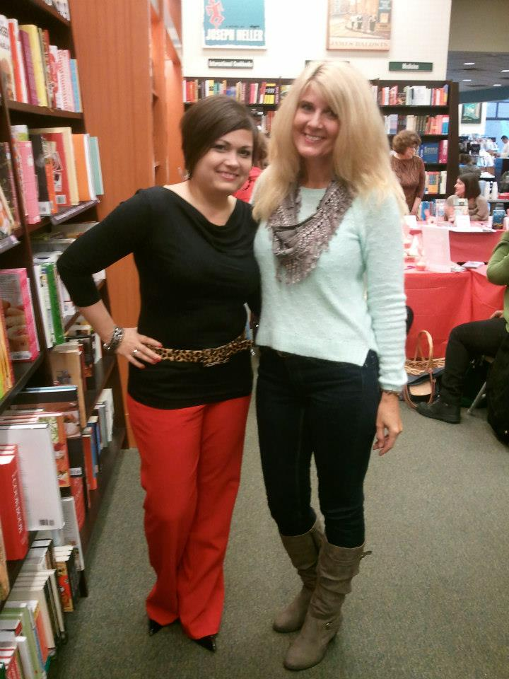 With my signing sister, Jules Bennett    — at   Barnes & Noble, Westchester, OH  .
