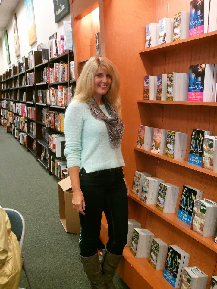 Me and a wall o' Destiny books ; )     — at   Barnes & Noble, Westchester, OH  .