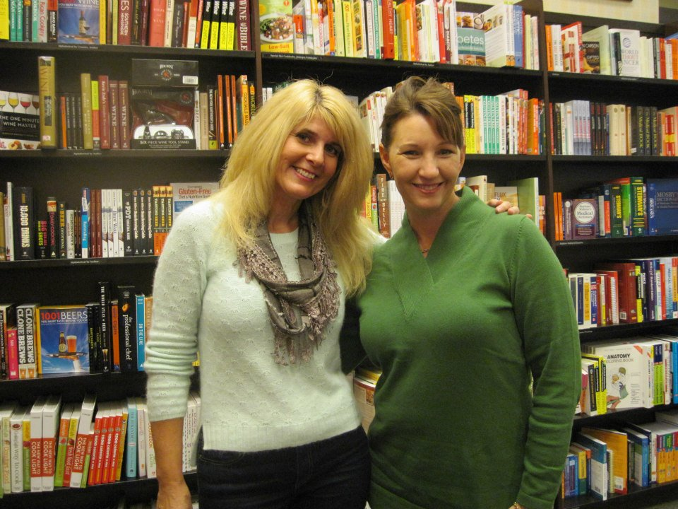 With fellow HarperCollins author friend Shelley Galloway     — at   Barnes & Noble, Westchester, OH  .