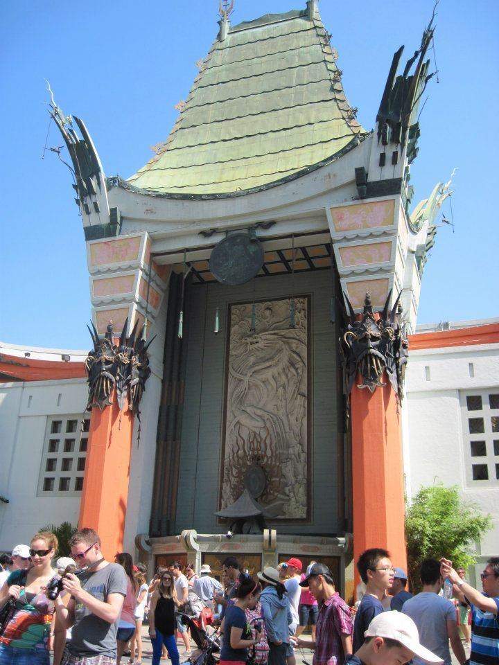 Grahman's Chinese Theater on Hollywood Blvd.