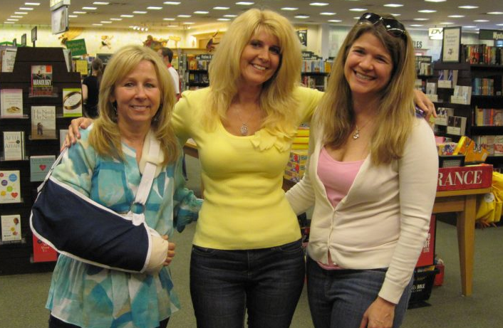 Lori Foster, Toni, and Jennifer McGowan at the Barnes & Noble booksigning earlier this month.