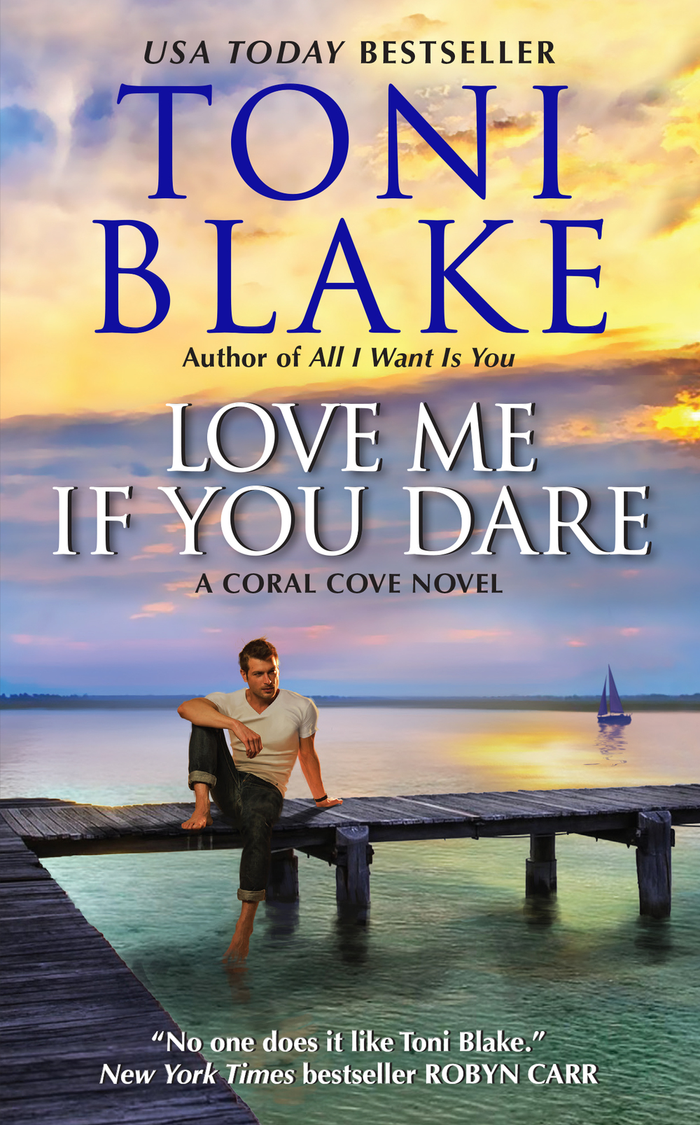 Love Me If You Dare   Coral Cove, book 2   Download for Digital Readers:   Avon Digital  |  Kindle  |  Nook   iBooks  |  Kobo  |  Google Play    Order in Print:   Amazon  |  B&N  |  BAM  |  Target   Indiebound  |  Book Depository  |  Rhapsody