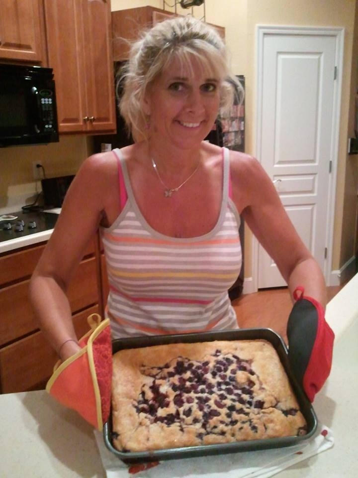See Toni's experience picking blackberries and making the cobbler on the Half Moon Hill page.