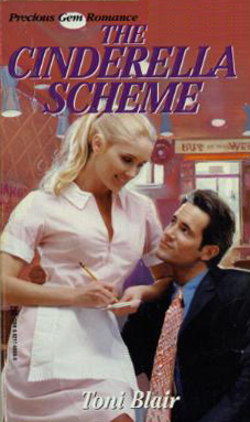 The original 1998 cover of The Cinderella Scheme