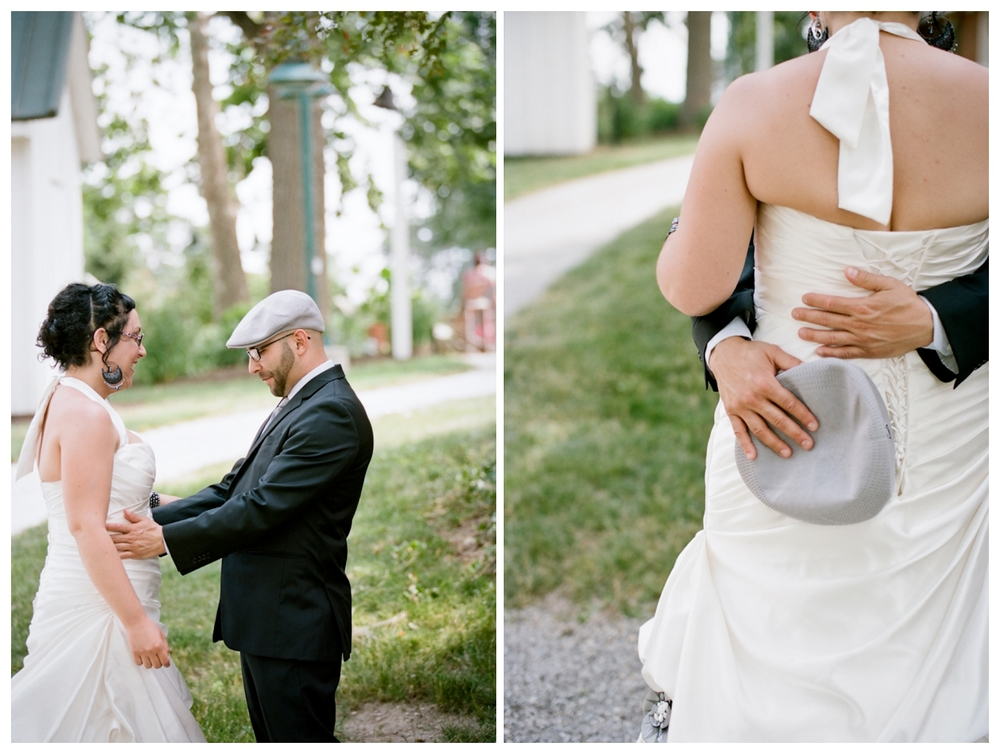 Columbus Ohio Wedding Photographer Film Photography Everal Barn Westerville