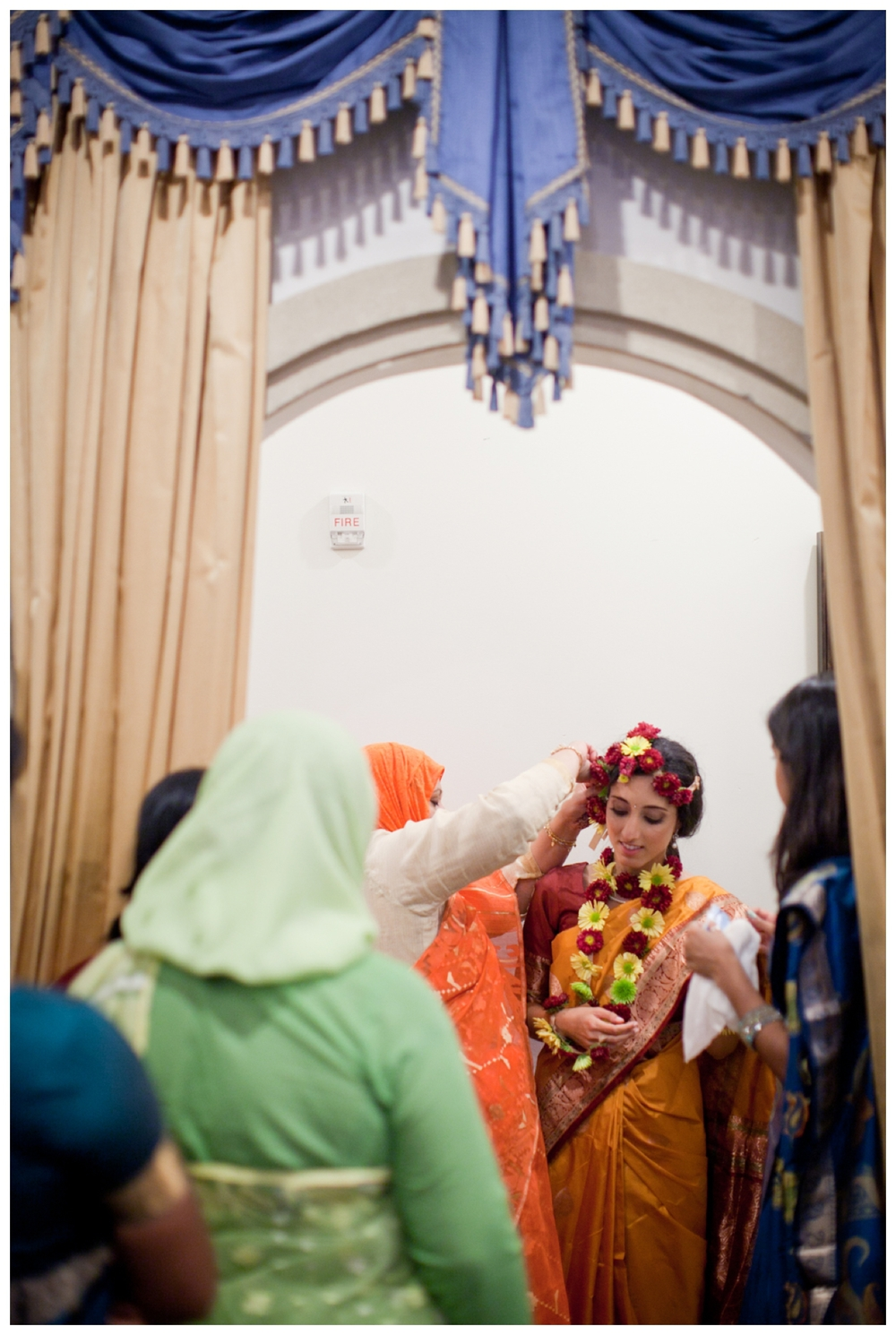 Indian and Greek Wedding Columbus Ohio Fine art wedding photography lily glass photography henna sari