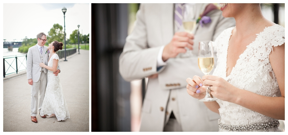 Lily Glass Photography Columbus, Ohio Northbank Park Wedding
