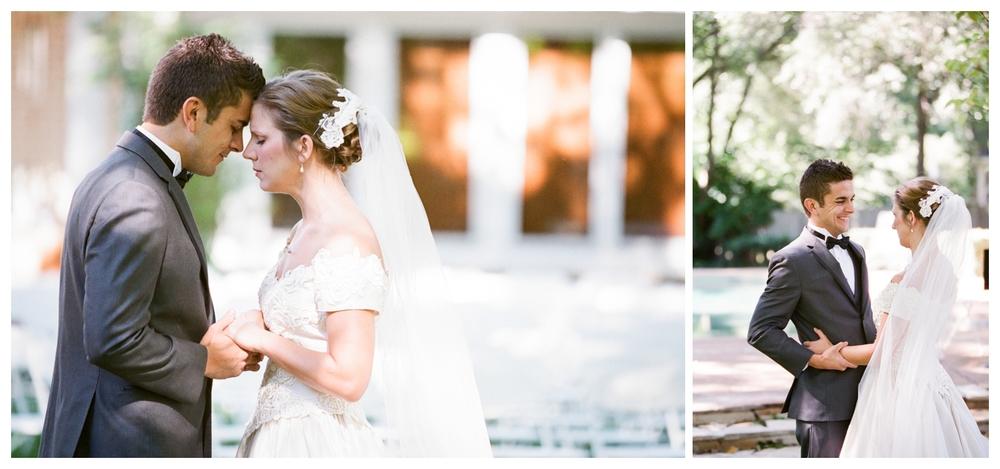 Southern Backyard Wedding | Lily Glass Photography