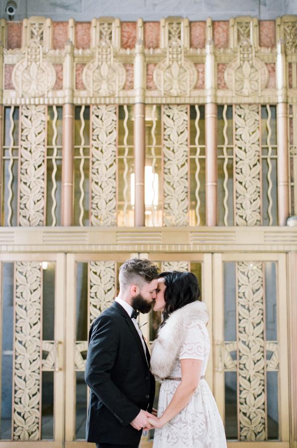courthouse wedding style by All Together Now | image by Lily Glass