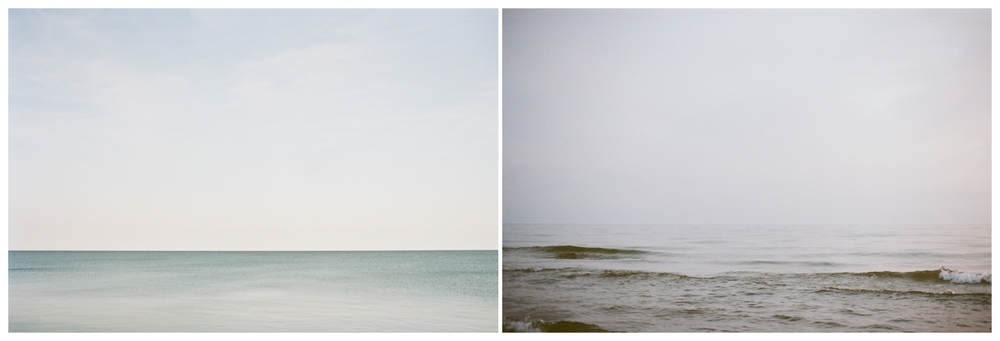 lake michigan, two days apart | lily glass