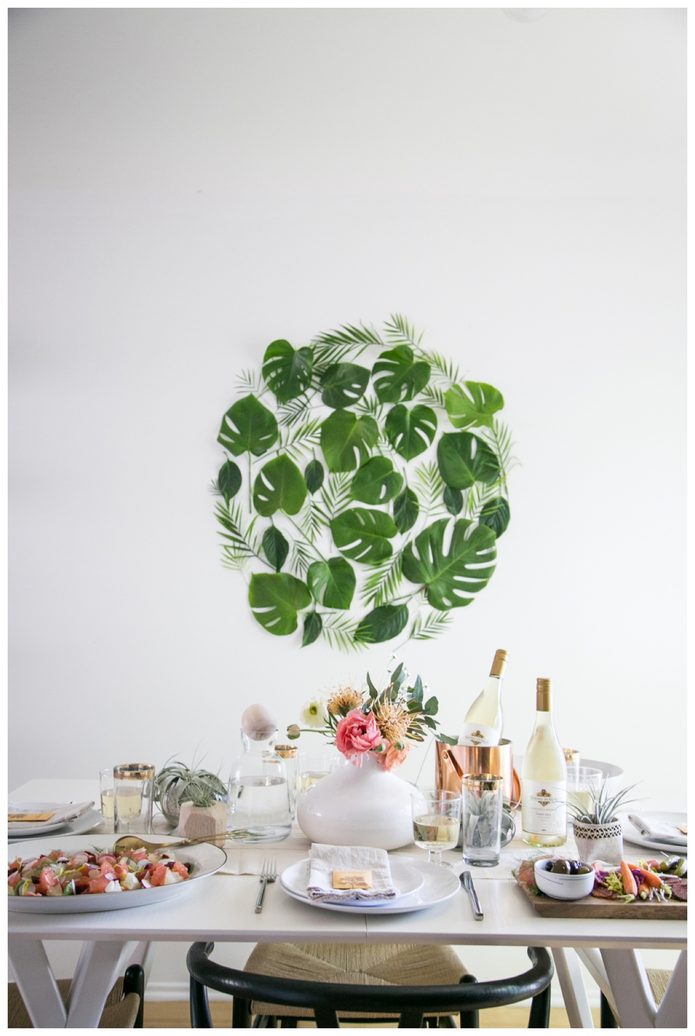 lily glass for almost makes perfect | spring table setting