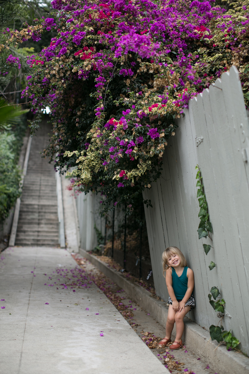 lily glass for mini style blog | touring l.a. with kids
