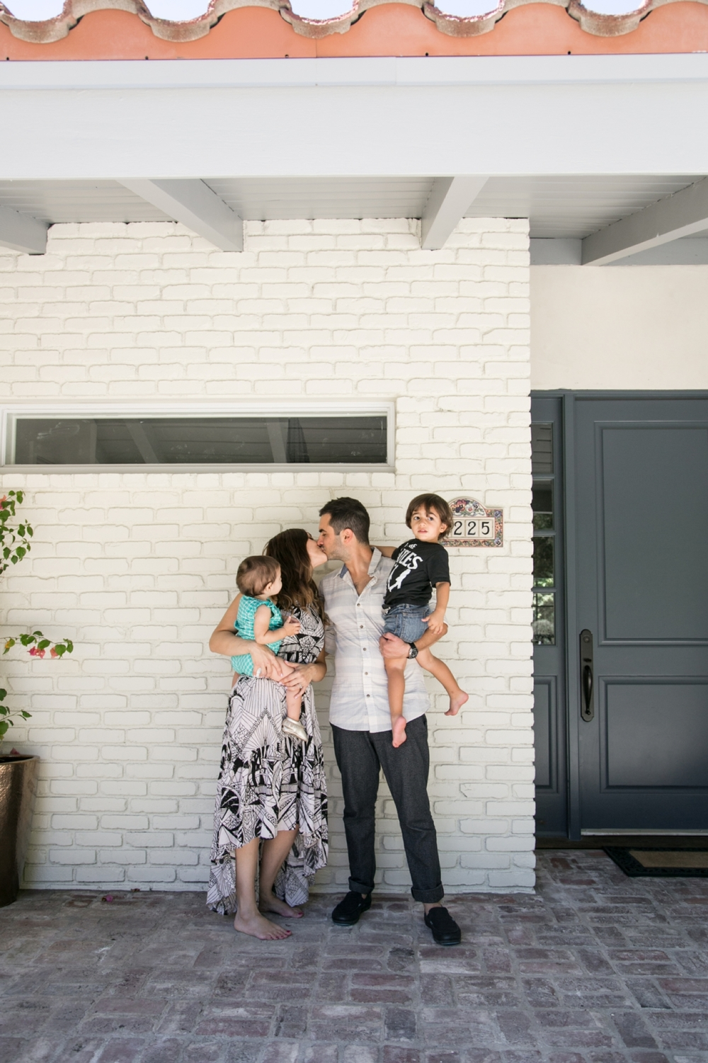 los angeles lifestyle family portraits