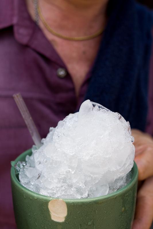 Ice, Thai style.