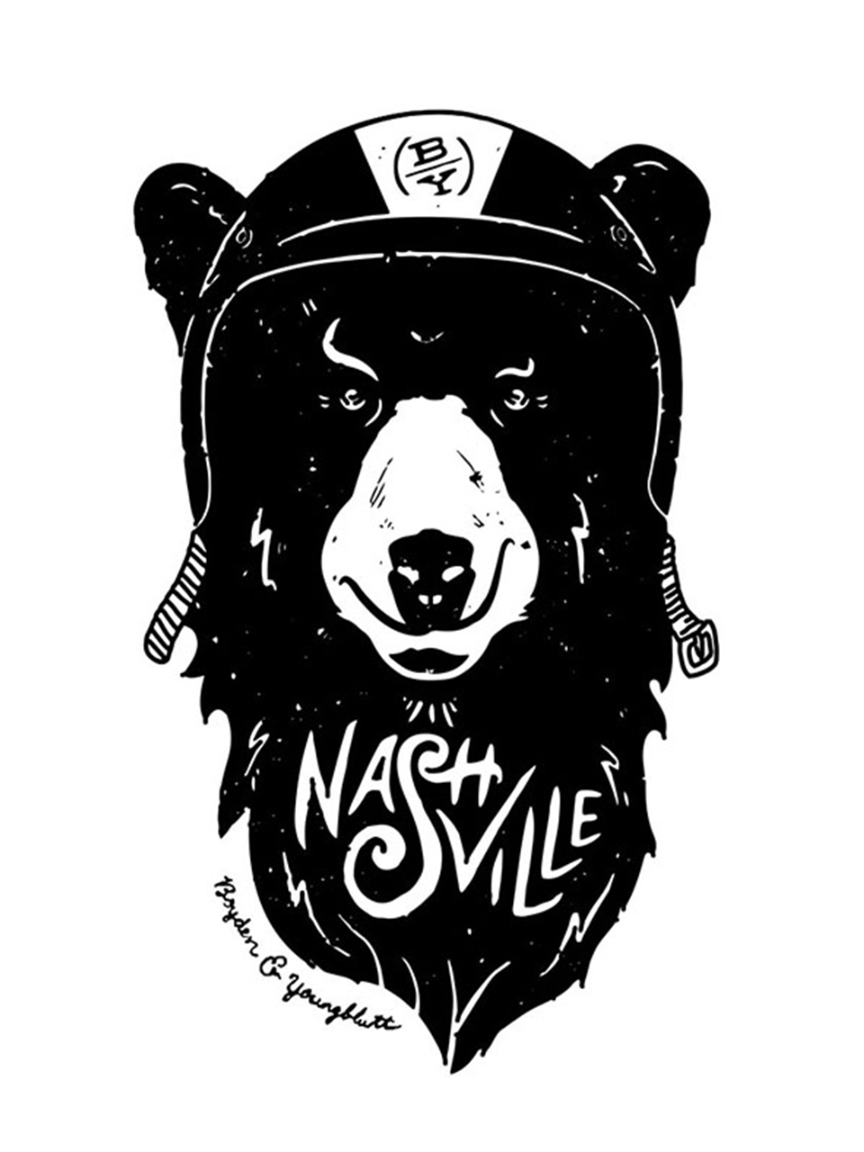 B&Y Nashville Bear Illustration