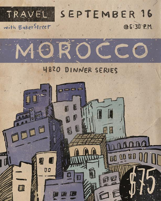 Morocco Event Poster