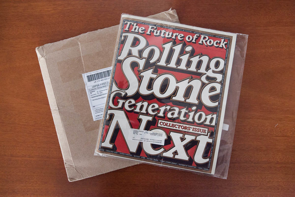 Rolling Stone, Generation Next, The Future of Rock, 1994.