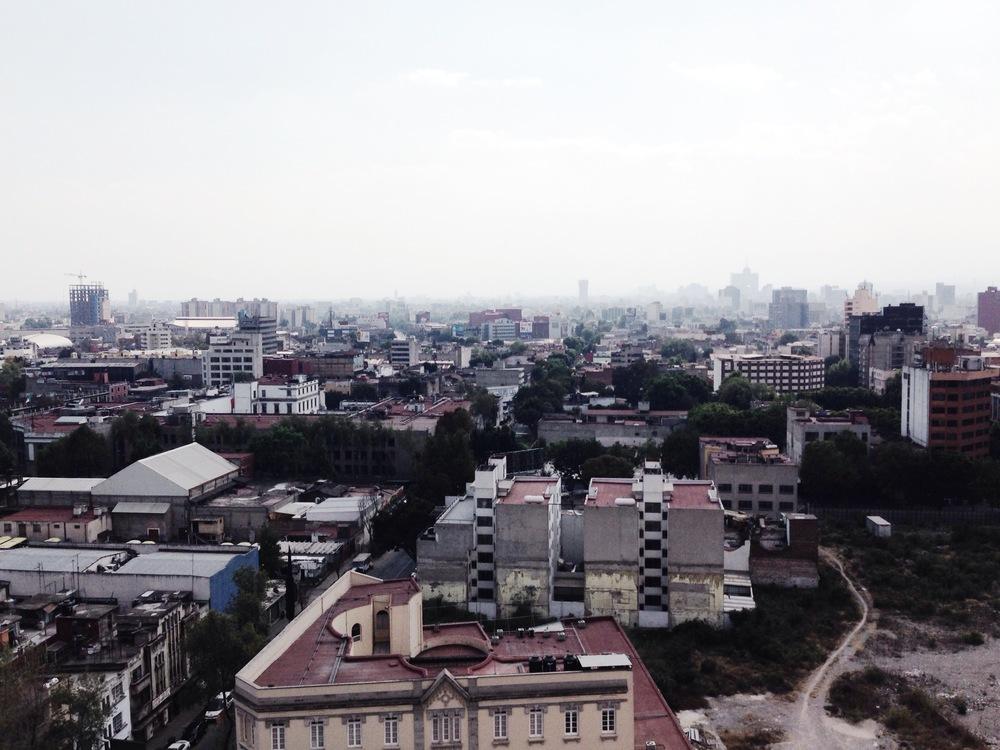 Vista desde la Locación.