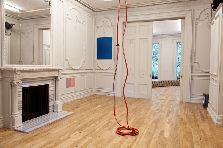 Zachary Susskind Peripheral Influence 2012 Rubber, plastic, brass Dimensions variable
