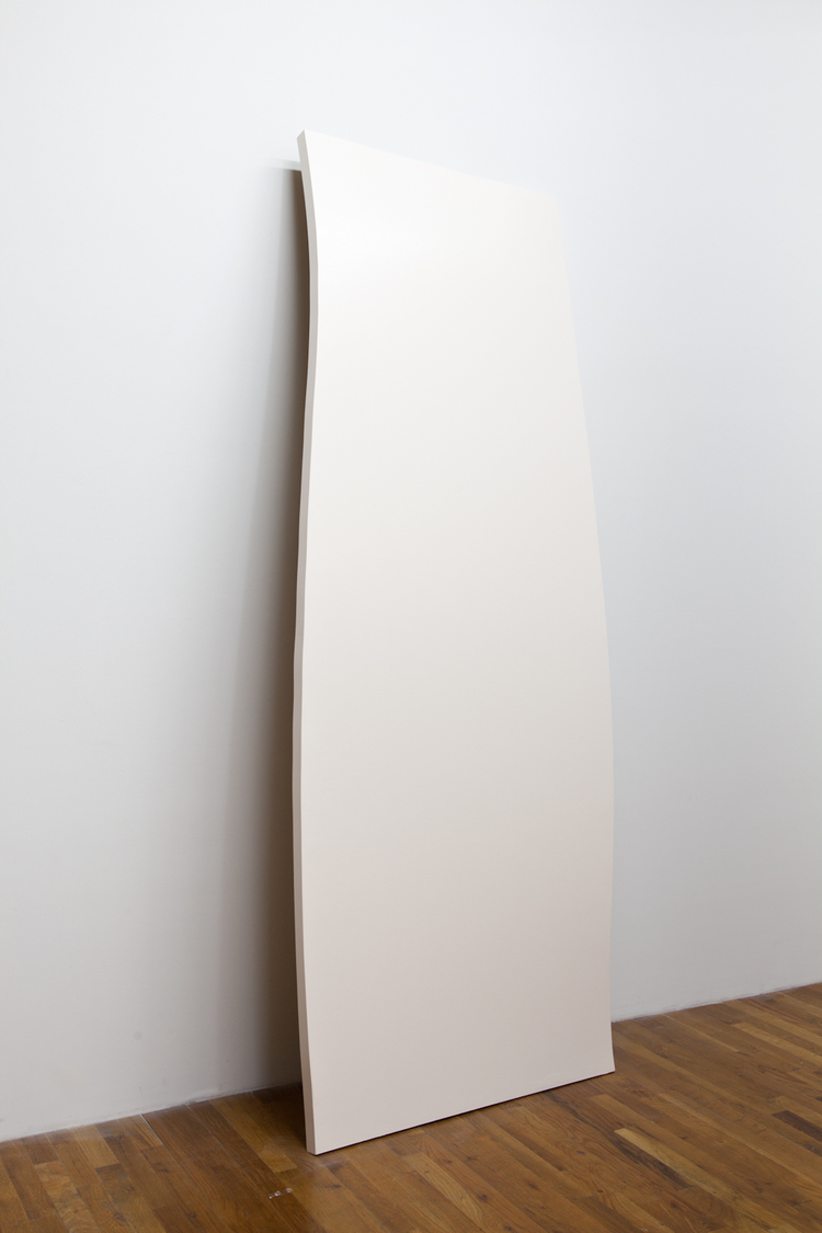 Moving Still  2012  Wood, masonite, paint  96 x 45 x 7 inches