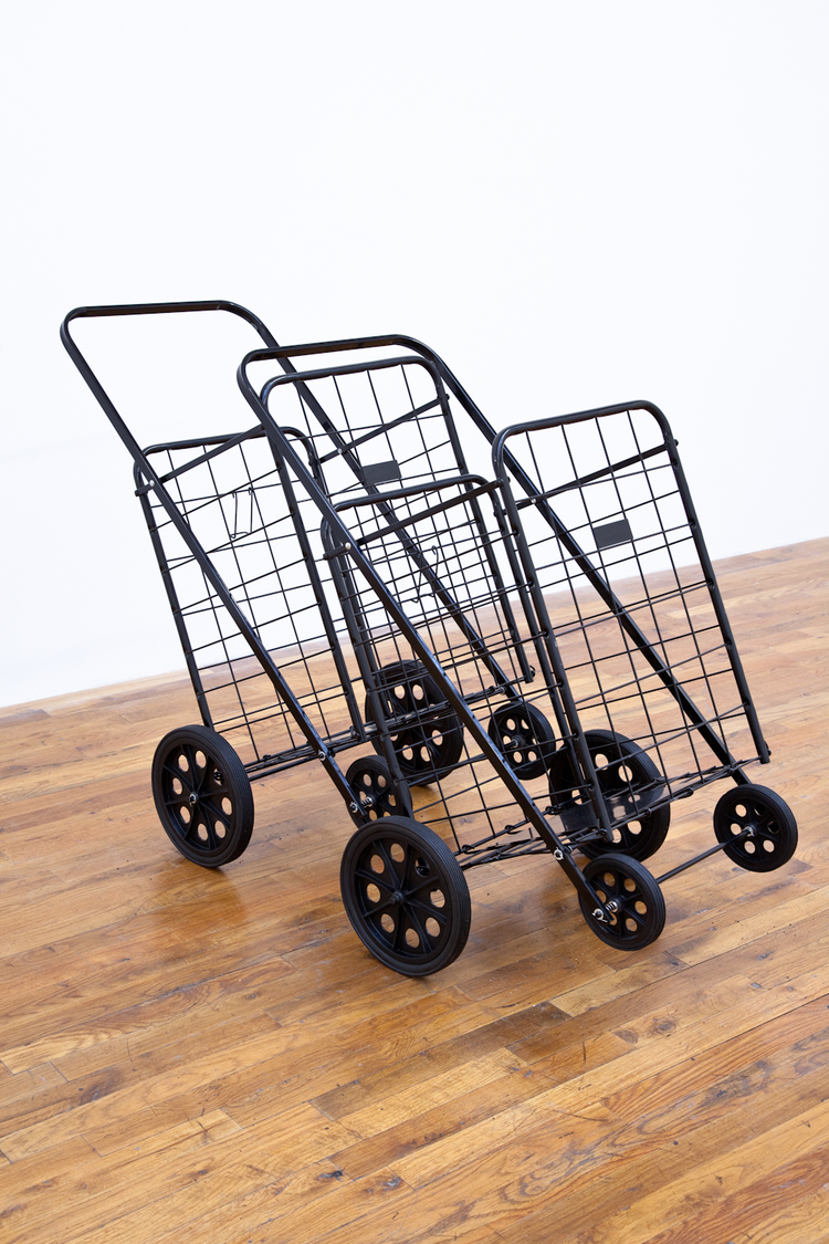 Yankee 2 Deli 2012 Shopping carts 55 1/2 x 23 x 36 inches