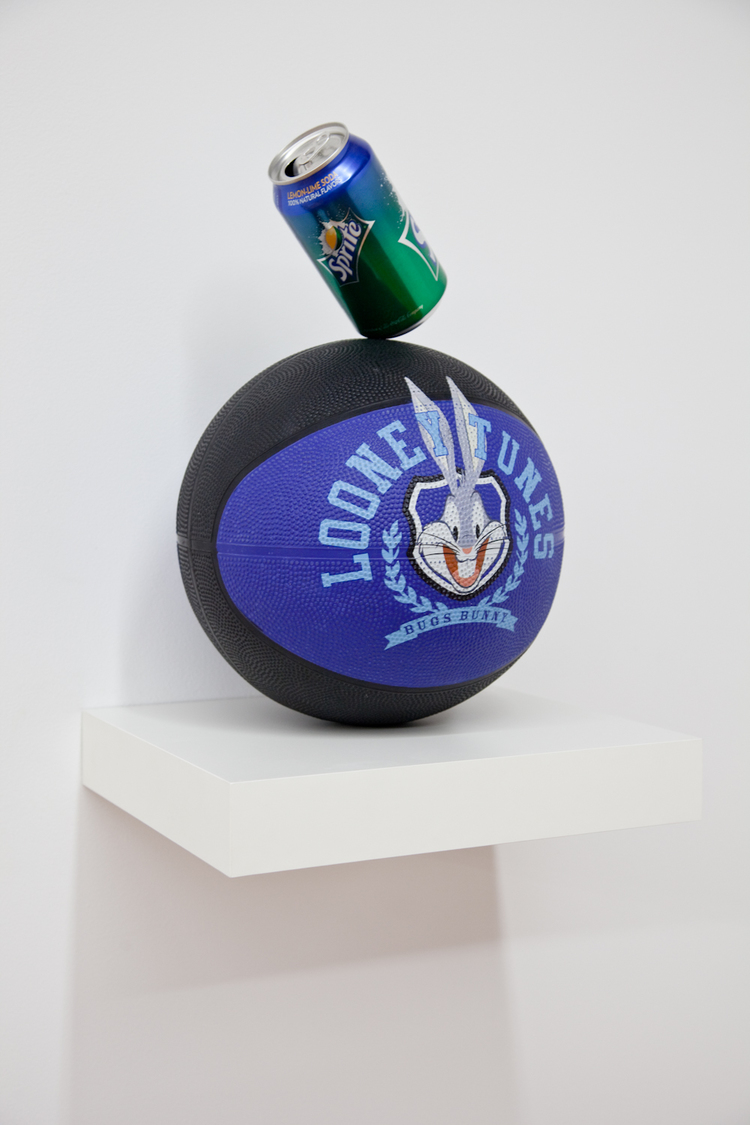 Obey Your Tunes 2012 Basketball and can 8 1/2 x 8 1/2 x 13 inches