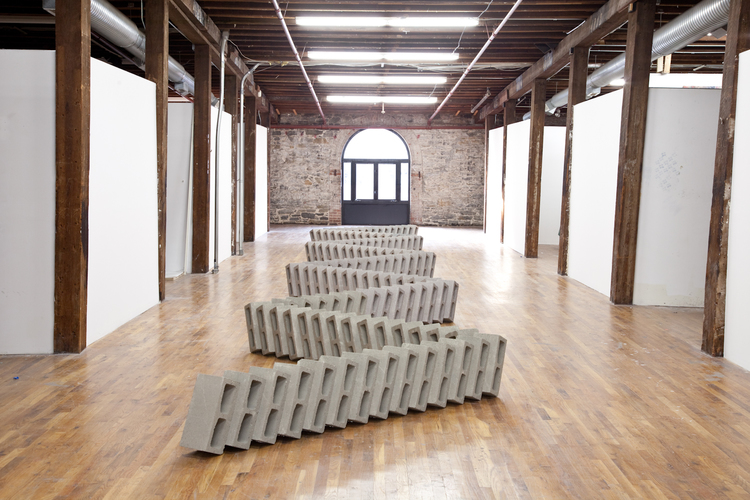 TICTAC 2012 Cinderblocks 384 x 60 x 16 inches