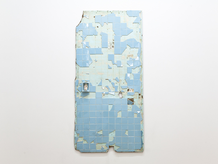 Evan Robarts A New Hope 2011 Bathroom Wall 49 1/4 x 96 inches