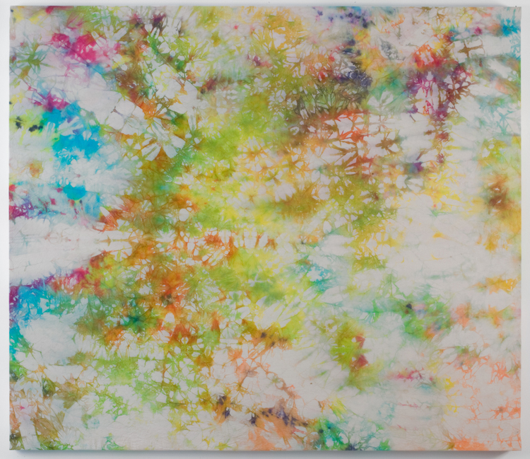 Brendan Lynch Untitled 2009 Tie-Dyed canvas 66 x 57 inches