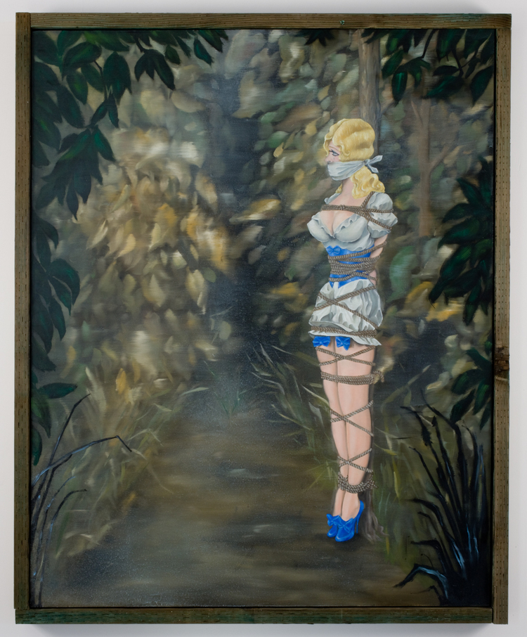 Louis Eisner  Gwendolyne  2009  Oil on canvas  48 x 60 inches