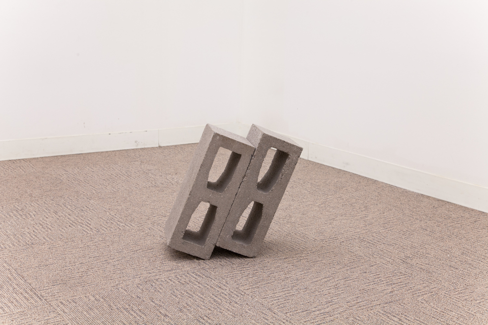 Dylan Lynch  You Want to Go Home and Cuddle  2012 Cinder blocks 15 x 7 x 7.5 inches