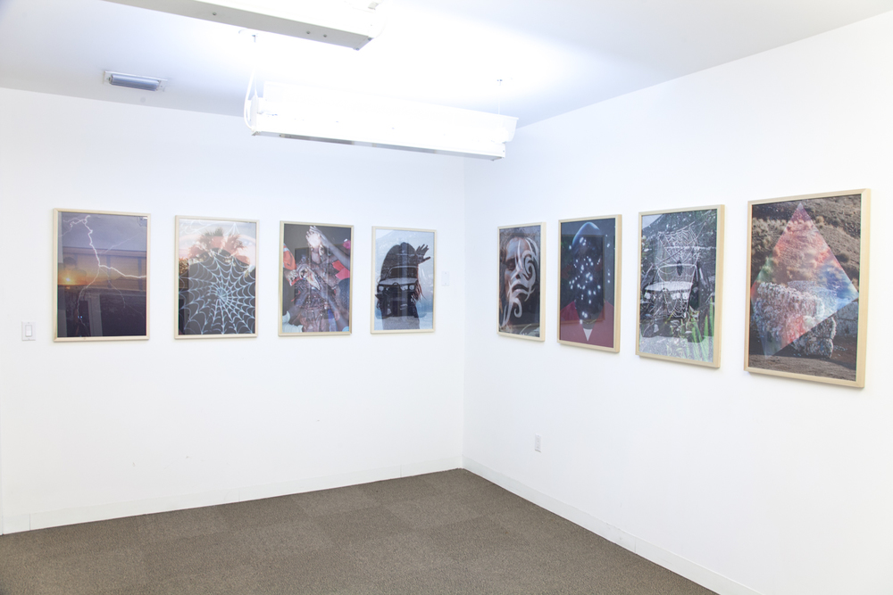 Peter Sutherland  2012  2012 Inkjet on perforated vinyl adhered to digital c-print 30 x 20 inches each (10 in total)