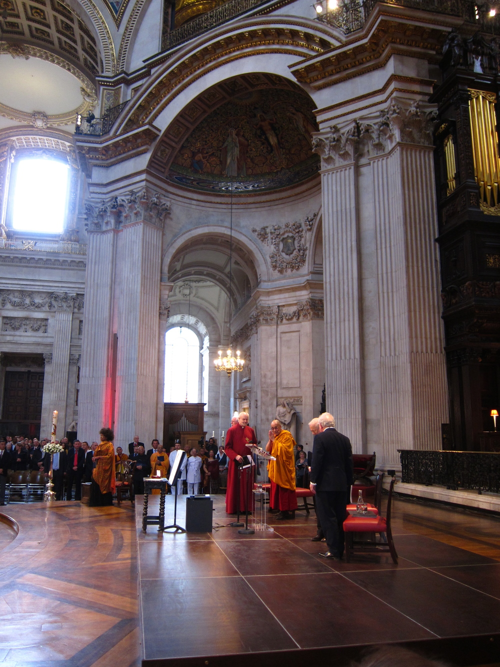Templeton Prize at St. Paul's Cathedral London