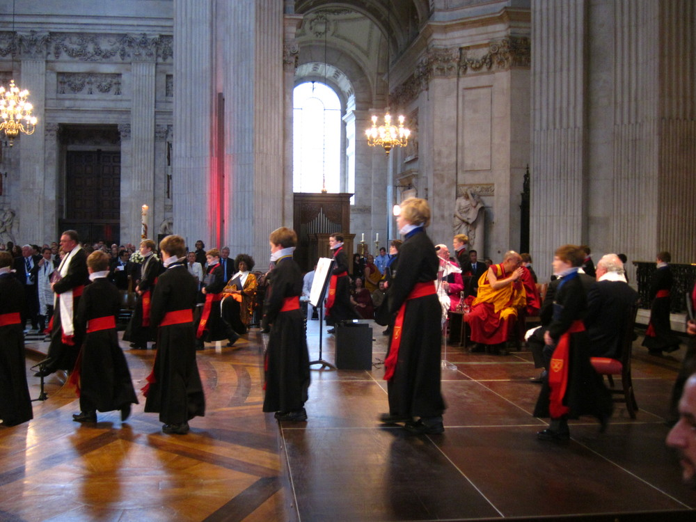 Templeton Prize, Cathedral Choir