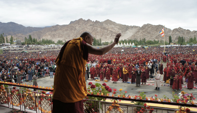 Teachings in Leh, Ladakh