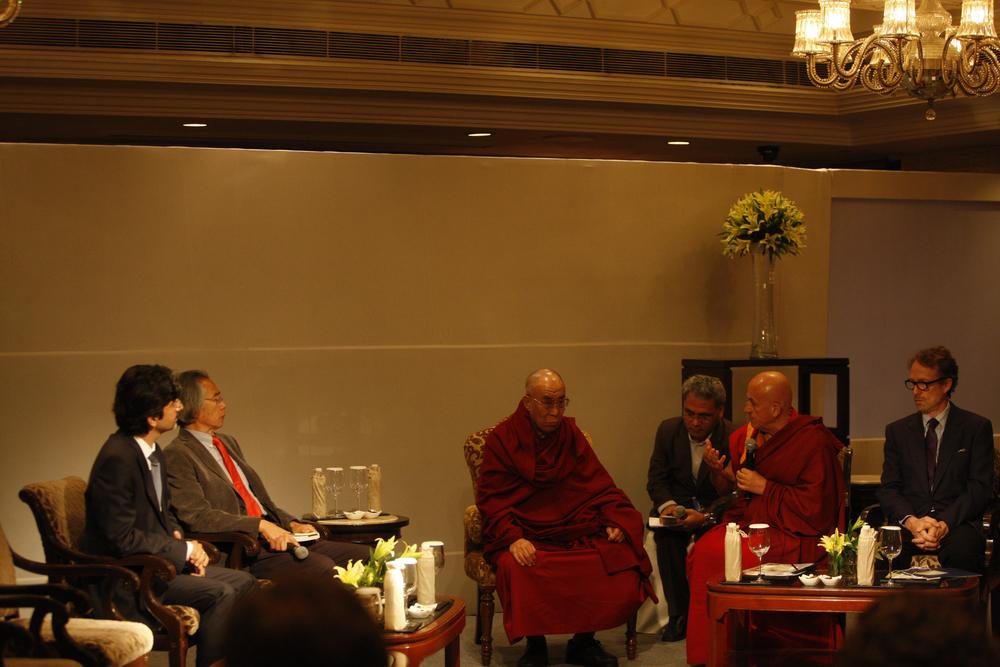 Delhi Dialogue Omidyar Chan Ricard Hearst