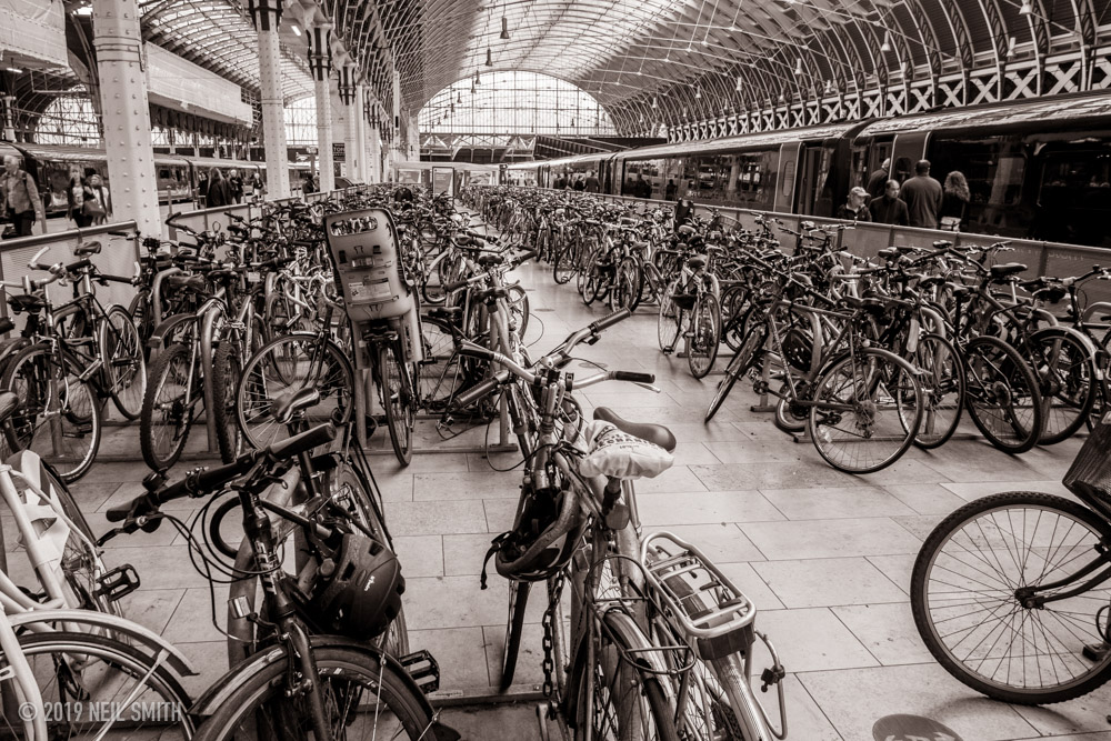 Bikes at Paddington