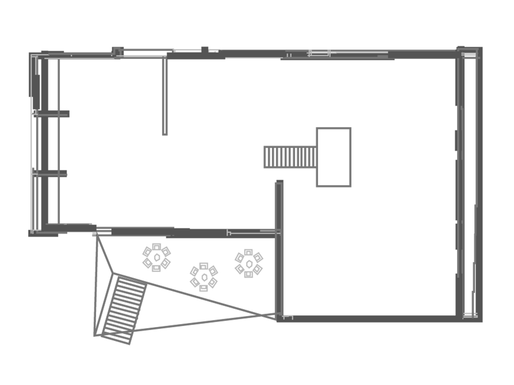 Floor plan lower level