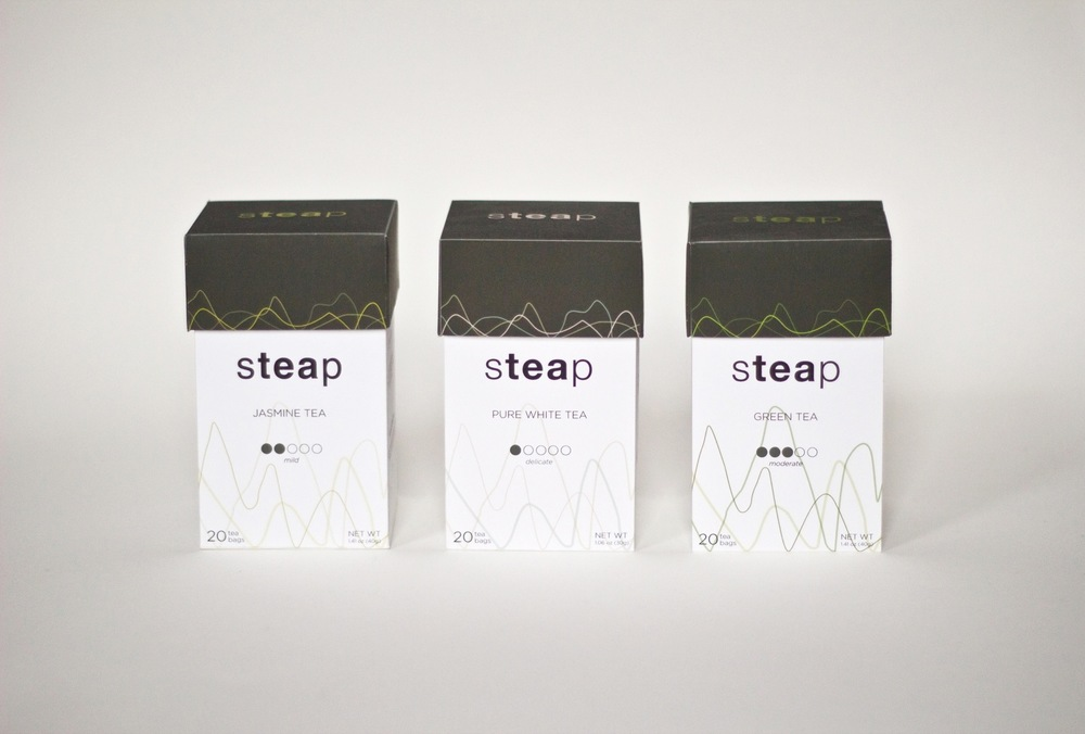 Tea Packaging, Fall 2012