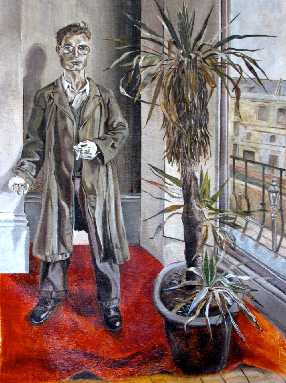 "Lucian Freud's ""Interior at Paddington"" Mastercopy 