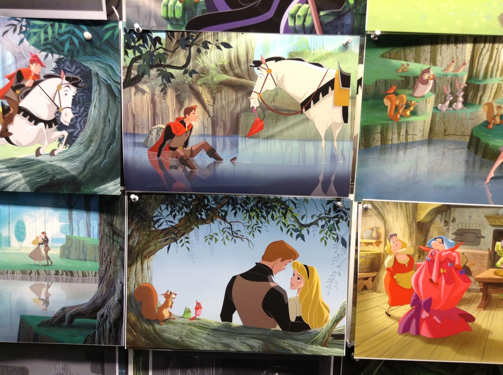 Frame grabs from the Disney motion picture, you might think? You'd be wrong. This is brand new original Disney art.