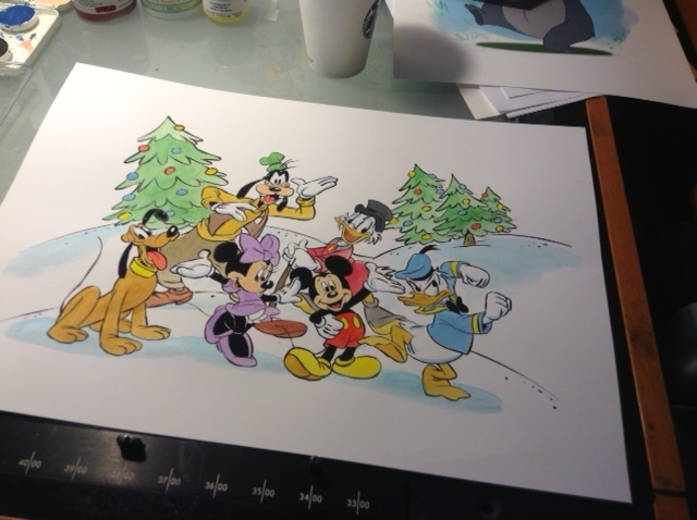 It's holiday time here at Disney. Okay, okay, I know it's a little early but I needed to get this done.
