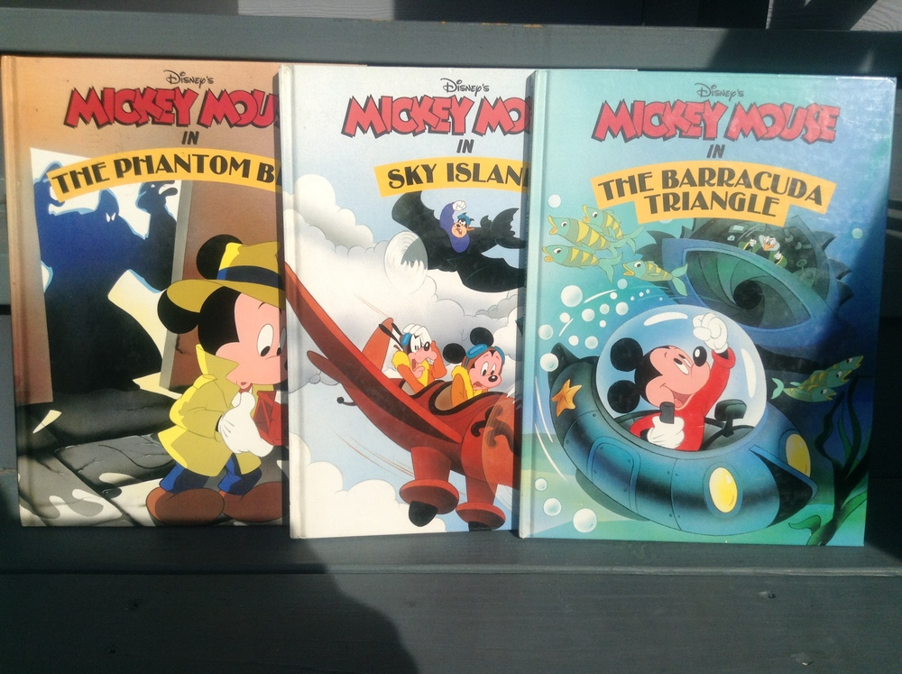 It was fun writing Mickey Mouse adventure stories in Disney's Publishing department back in the eighties.