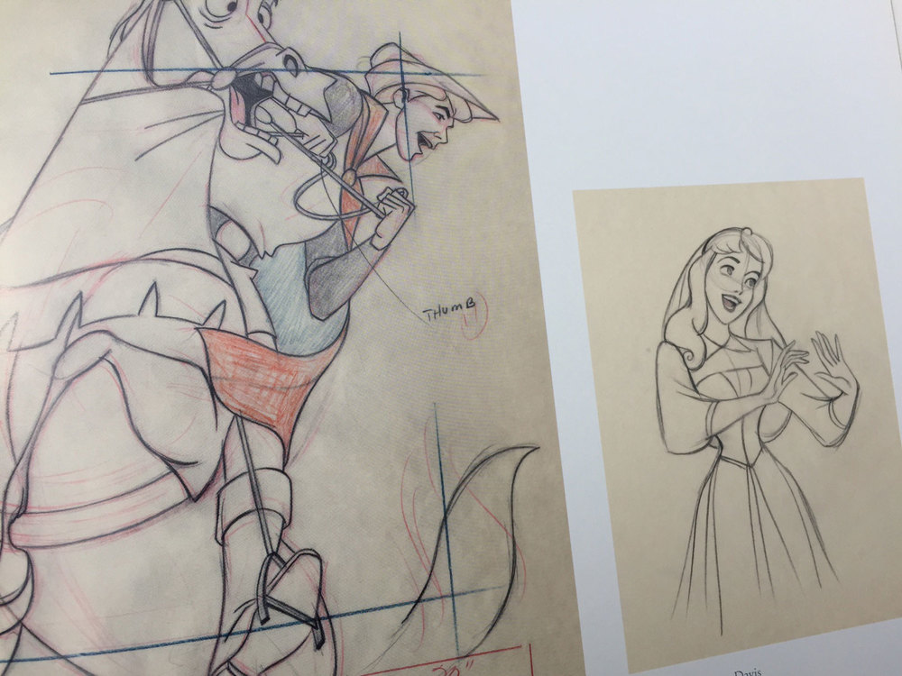 Check out the individual animation drawings from Walt Disney's Sleeping Beauty. You'll not find a poor drawing in the bunch.