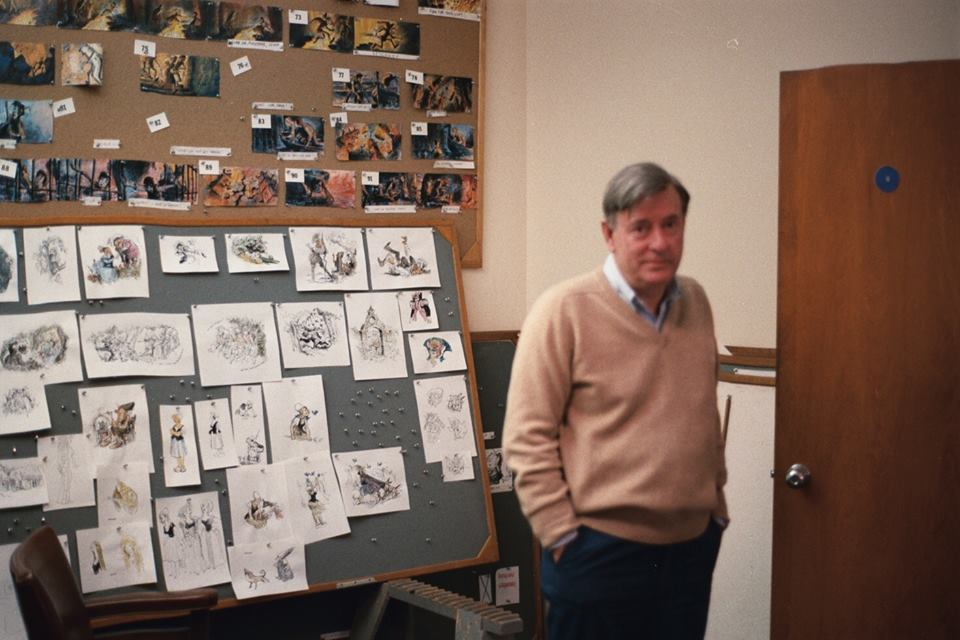 I absolutely love this photograph of my friend, Vance Gerry taken at the Walt Disney Studio. Vance was an amazing Disney story teller and taught me everything I know about story.