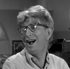 The talented Sterling Holloway. It was a joy to be in the recording studio with this guy.