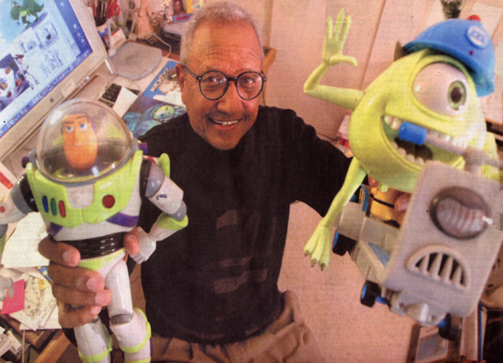 Lucky me. Way back in 1997 I had the opportunity to work at an amazing new cartoon studio.