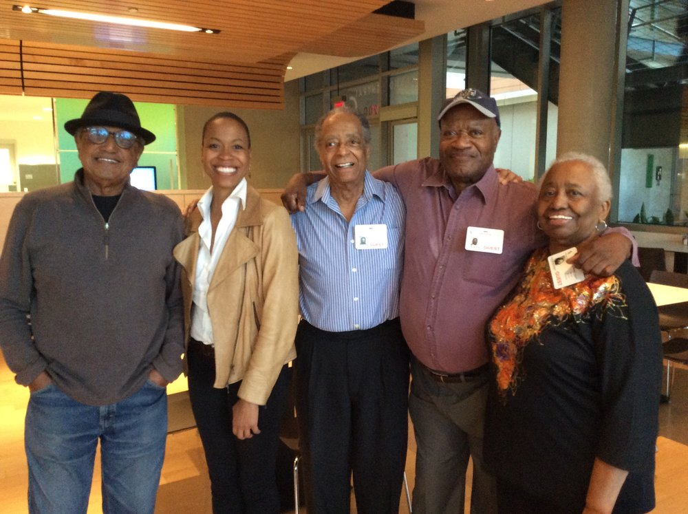 Floyd Norman, Dr. Rhea Combs, Norman E. Edelen, Leo D. Sullivan and Lyn Sullivan. Remembering Vignette Films and the Sixties.