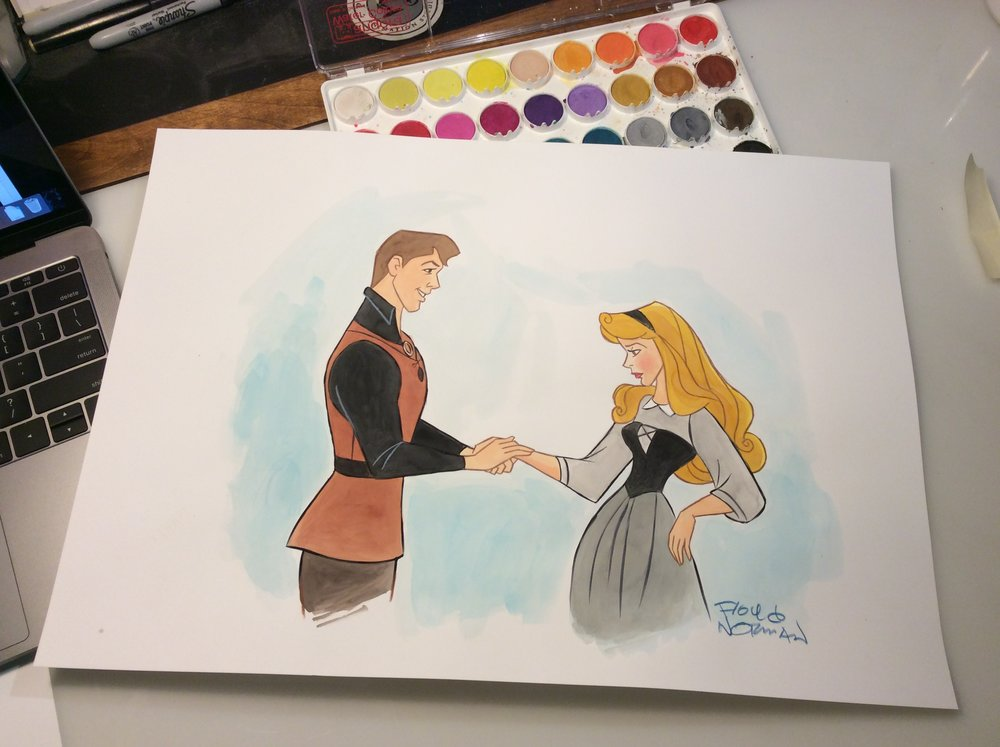 Prince Phillip and Briar Rose are nice kids...but hardly heroes.