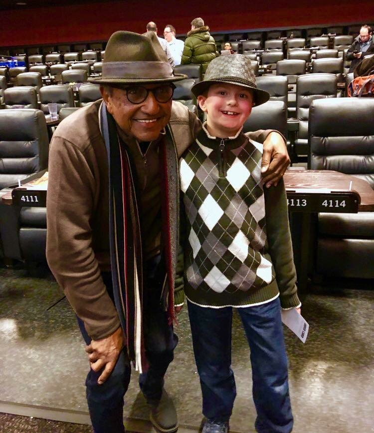 This delightful young man at our Brooklyn screening wants to be an animator like me. As a cartoon old timer I can't imagine a greater compliment and this kid makes me feel so proud.